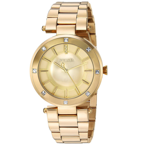 Invicta 23728 Angel All Gold Stainless Steel
