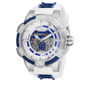 Invicta 26225 Star Wars R2-D2 Silver White Automatic Limited Edition