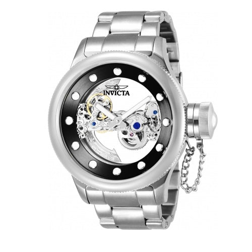 Invicta 26267 Russian Diver Silver Skeleton Stainless Steel