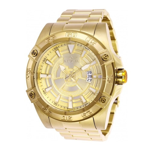 Invicta 27010 Pro Diver Automatic All Gold Stainless Steel