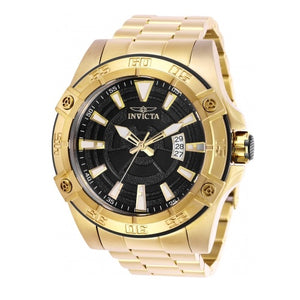 Invicta 27012 Pro Diver Automatic Gold Black Dial Stainless Steel
