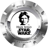 Invicta 27248 Star Wars Han Solo Black Stainless Steel Limited Edition