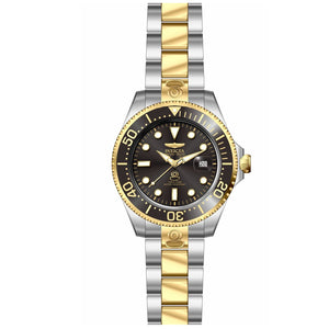 Invicta 27614 Pro Diver Automatic Gold/Silver Black Dial Stainless Steel