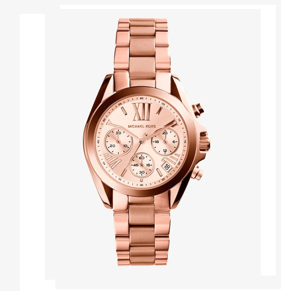 Michael Kors MK5799 Rose Gold tone Mini Bradshaw Chrono