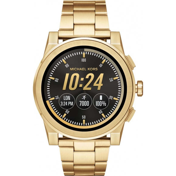 Michael Kors MKT5026 Access Gold Touch Screen Grayson Smartwatch