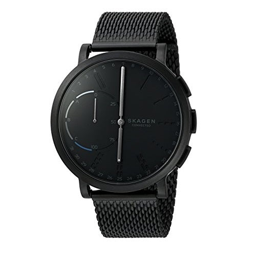 Skagen Connected SKT1109 Hagen Black Hybrid Smartwatch Mesh Steel Band