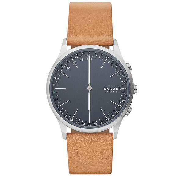 Skagen Connected SKT1200 Jorn Hybrid Connected Gray Brown Leather Band
