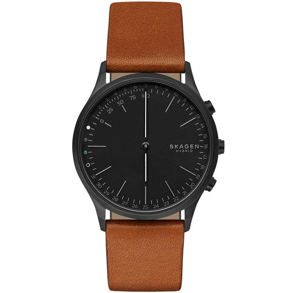 Skagen Connected SKT1202 Jorn Hybrid Connected Black Brown Leather