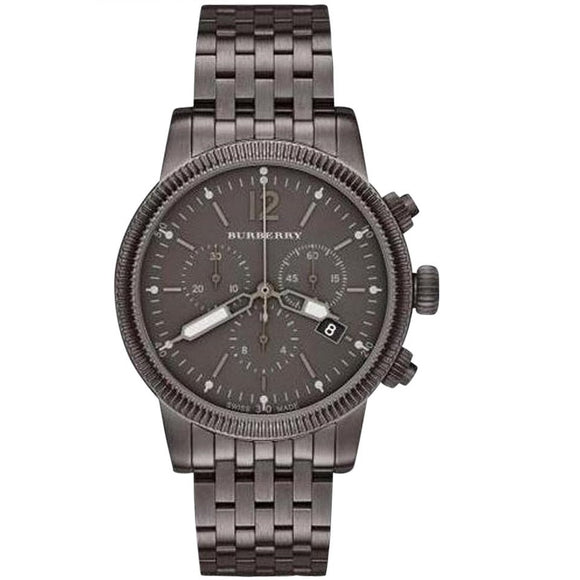 Burberry BU7840 The Utilitarian Gunmetal Stainless Chrono