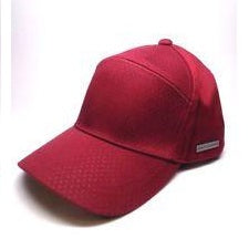 ARMANI EXCHANGE Red Micro A|X Logo Cotton Adjustable Hat