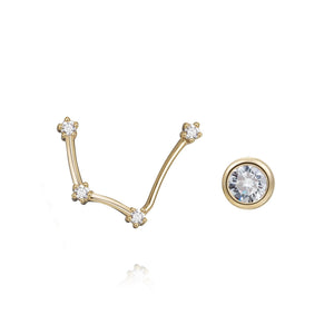Aquarius Constellation Earrings