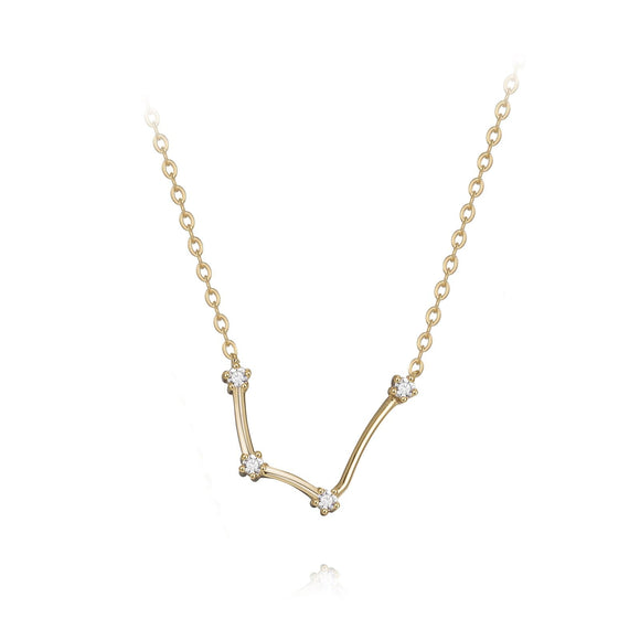 Aquarius constellation necklace necklaces KATHRYN New York