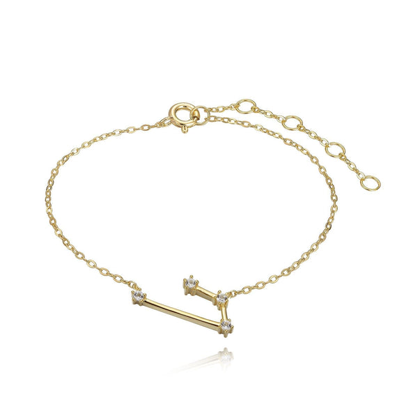 Aries Constellation Anklet