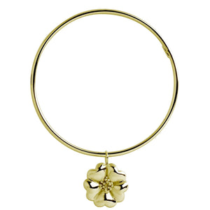 Blossom Dangle Women's Bangle Bracelet