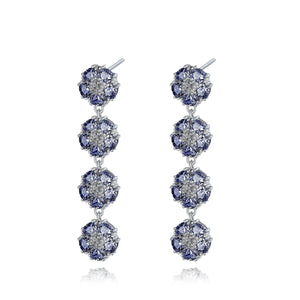 Blossom gentile chandelier earrings