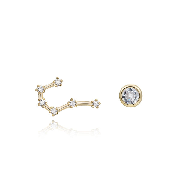 Cancer Constellation Earrings