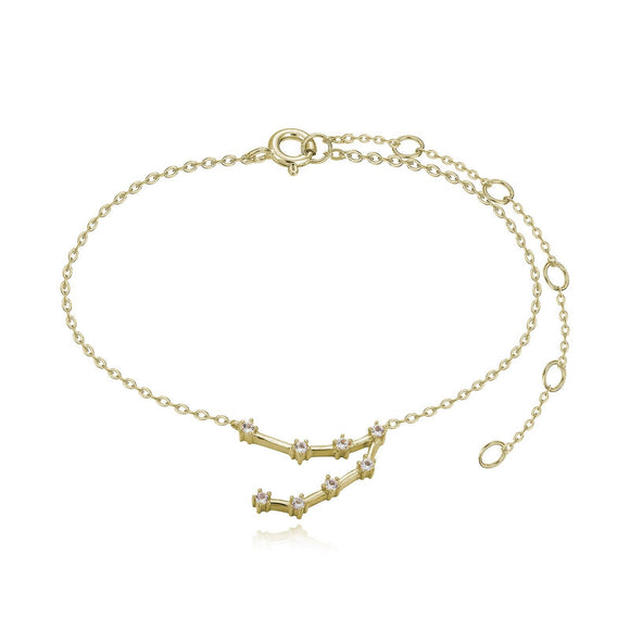 Capricorn Constellation Anklet