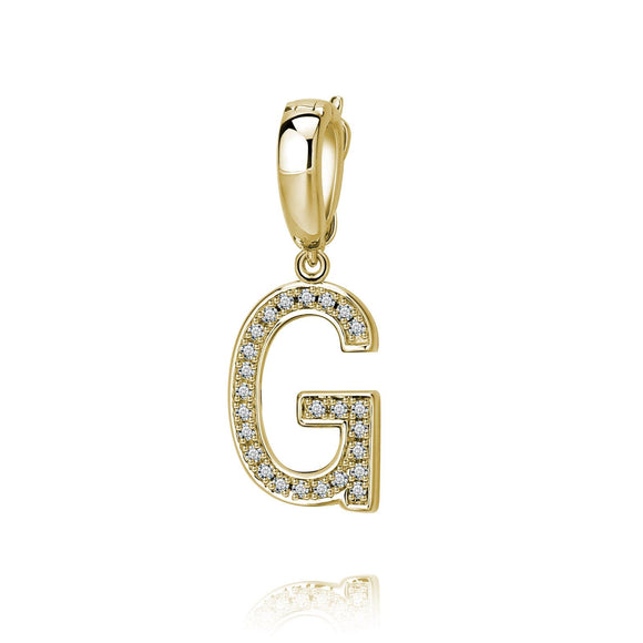 G Initial Pendant / Charm