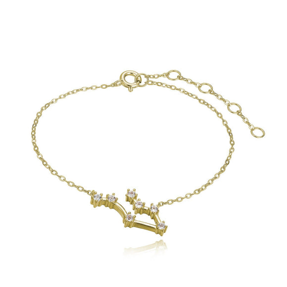 Gemini Constellation Anklet