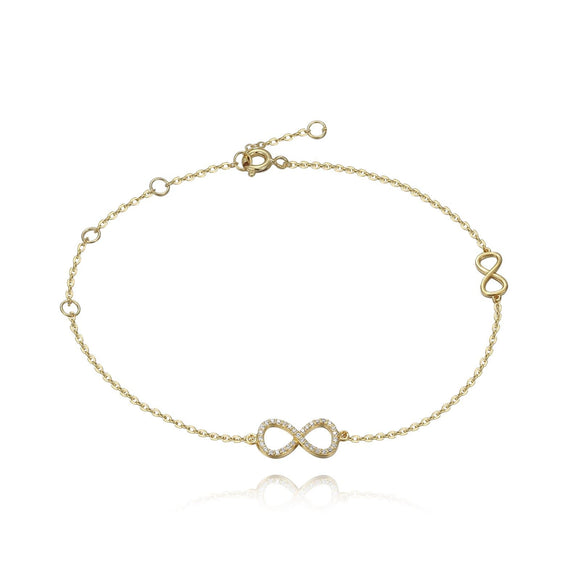 Infinity Pave Anklet