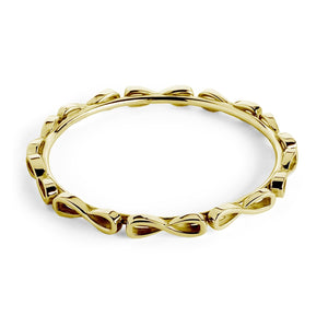 Infinity Wraparound Bangle Bracelet