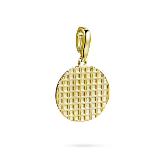 Nailhead detachable pendant charms/pendants KATHRYN New York Yellow Gold Vermeil One Size Fits All