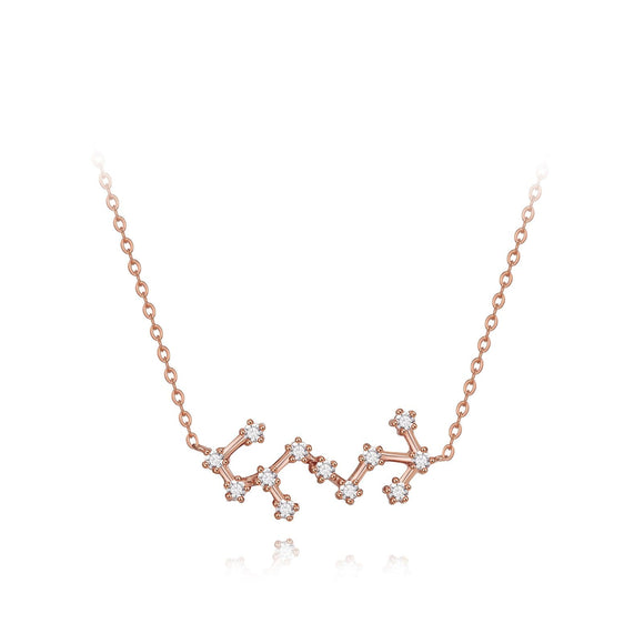 Scorpio constellation necklace necklaces KATHRYN New York