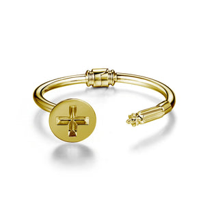 Screw & Screwdriver hinge bracelet bracelets KATHRYN New York Yellow Gold Vermeil Small/Medium