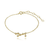 Virgo Constellation Bracelet