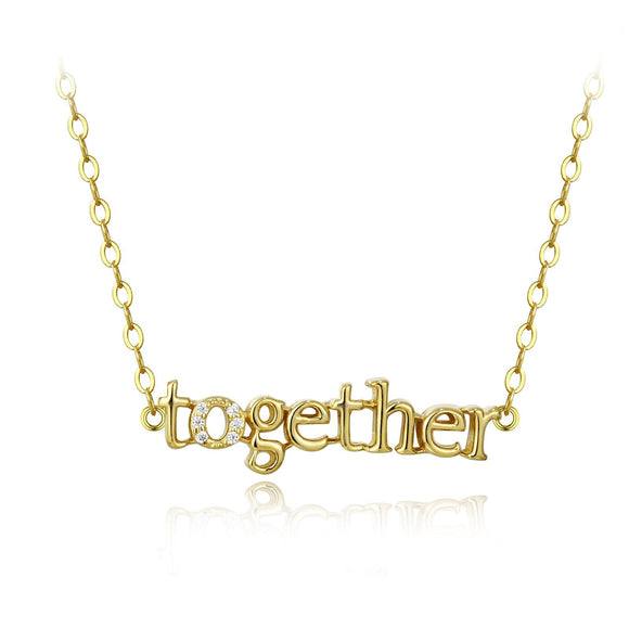 Together is How We Stand Necklace