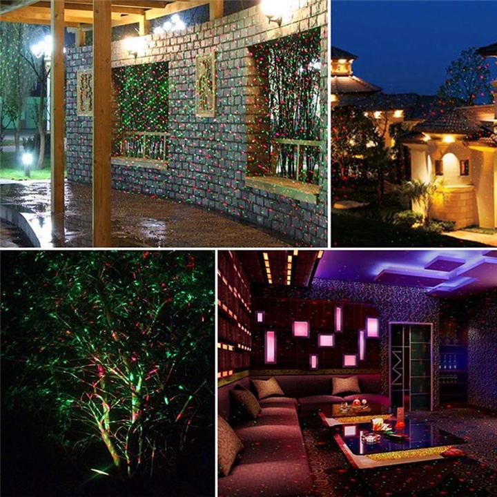 Starry Laser Lights for Home and Garden