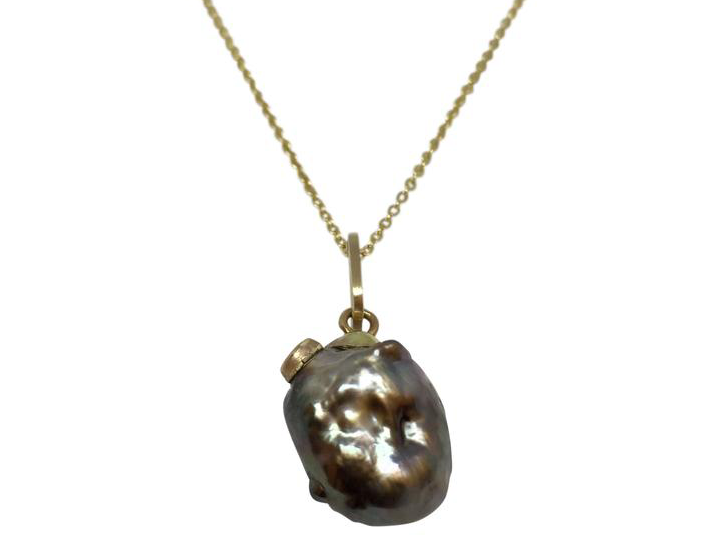 Baroque Tahitian Pearl Heart Collection for Valentine's Day