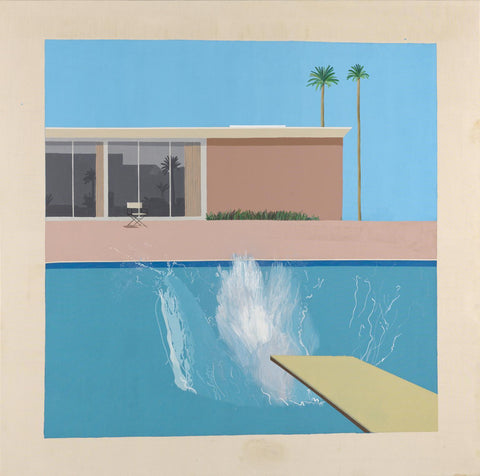 A Bigger Splash 1967 Tate © David Hockney