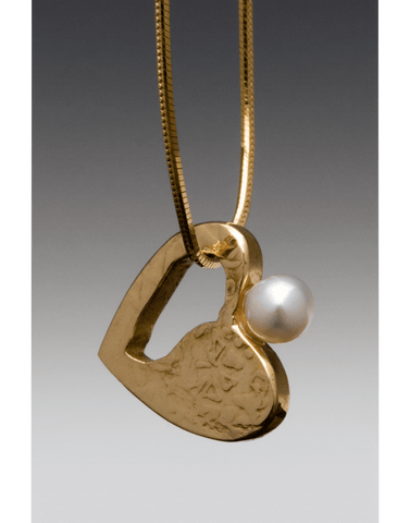 Cove Pendant with Tahitian Pearl
