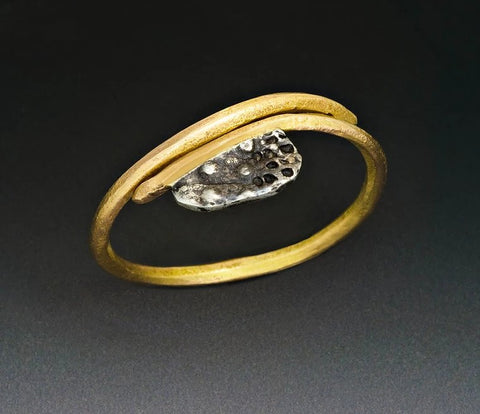 18k Gold Diamond Cluster Ring