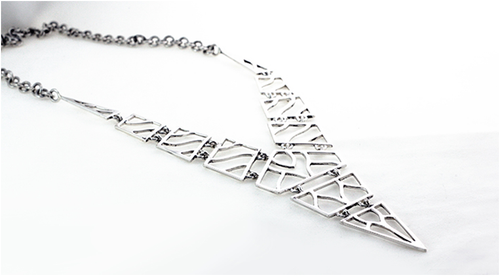 Vertical Degrees Necklace