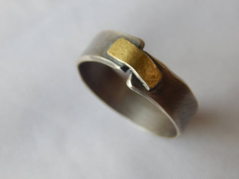 Wide Connection Ring