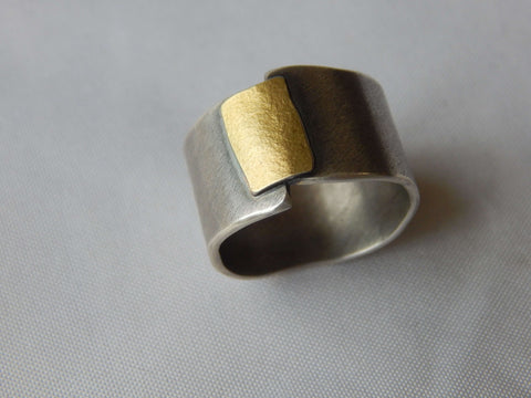 Stackable Twig Ring