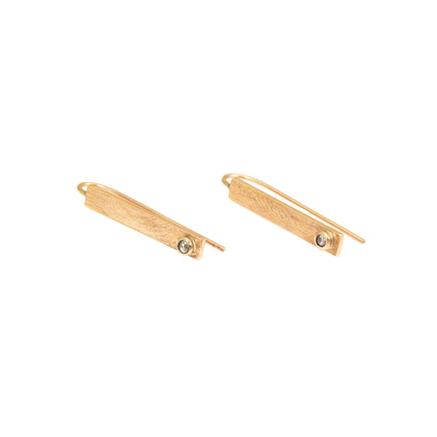 Vermeil Liquid Gold Threader Earrings