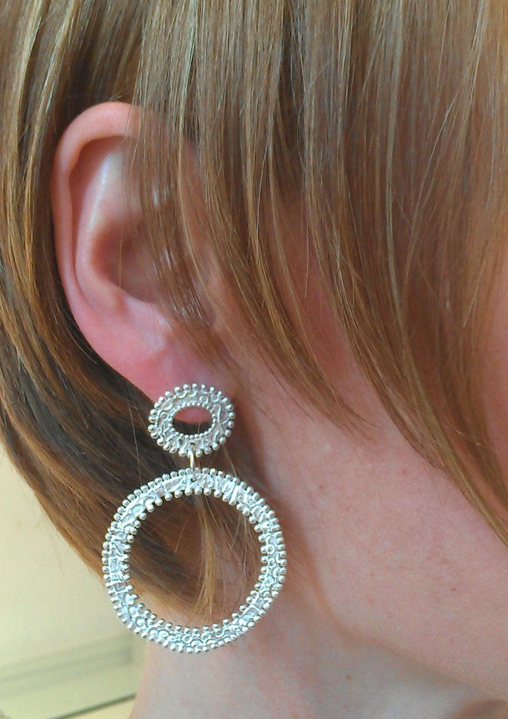 Two Circles Earrings