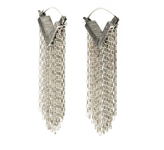 Raining Links Earrings Mariella P.