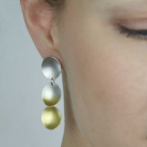 Electra Triple Drop Earrings