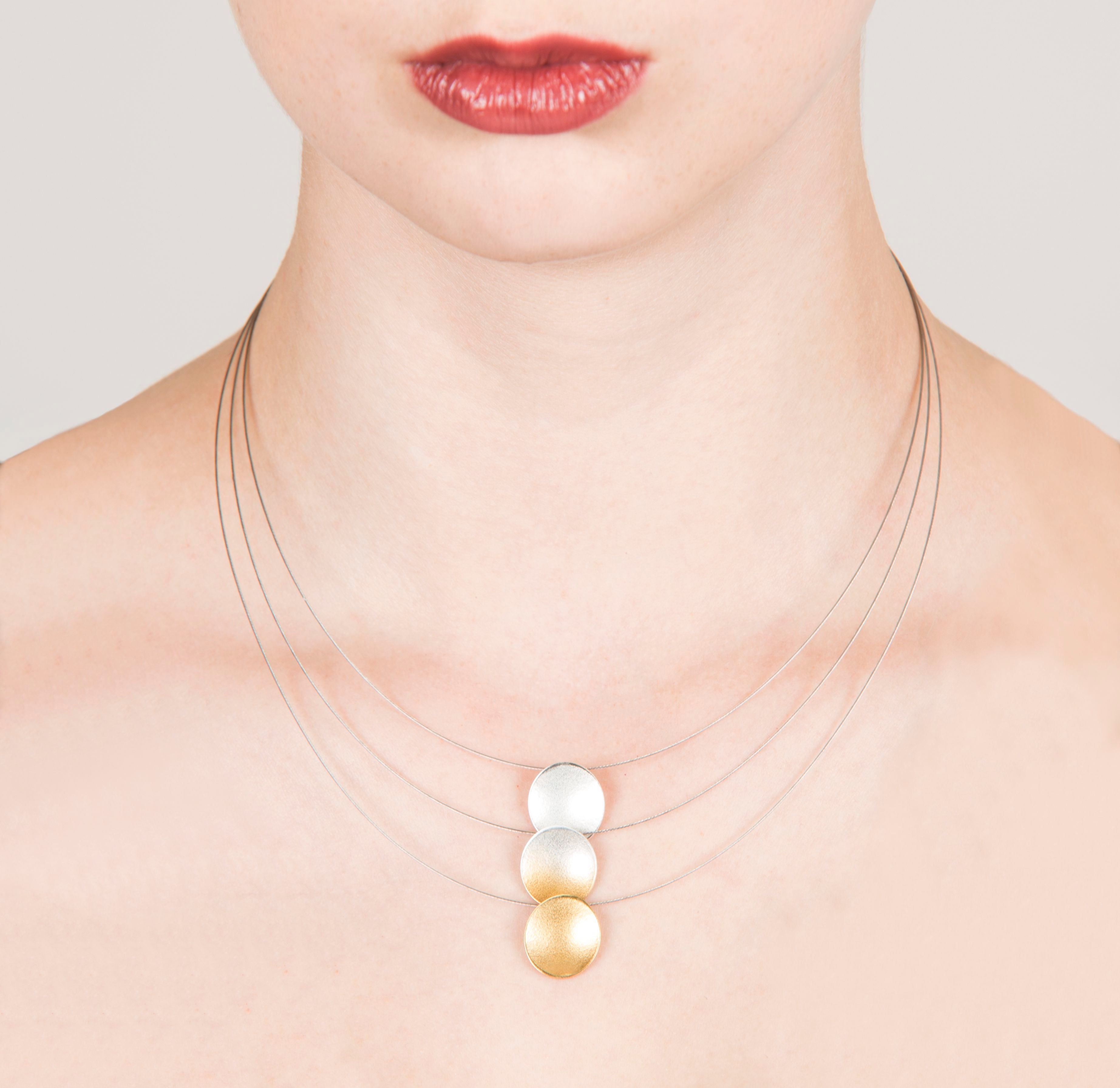 Electra Triple Strand Necklace