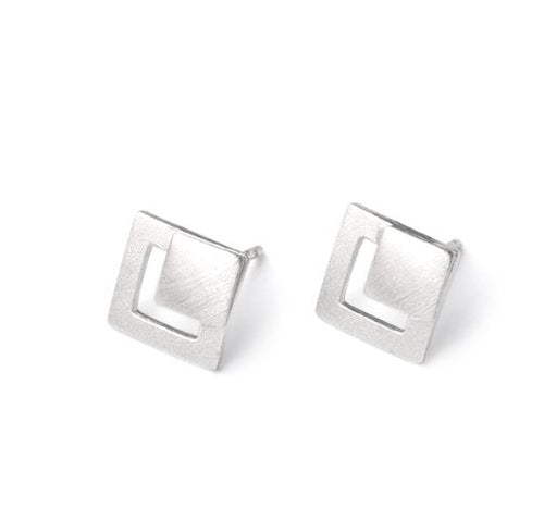 Diamond Shaped Earrings
