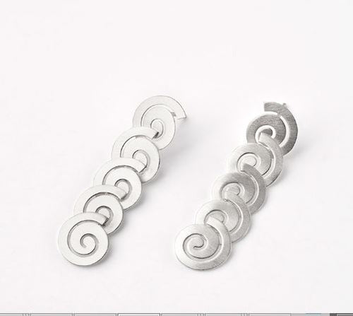 Coil Shaped Earrings