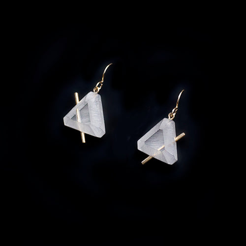 Lucid Trilateral Earrings