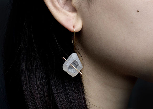 Lucid Rock Drop Earrings