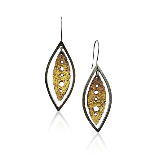 Long Leaf Drop Earring