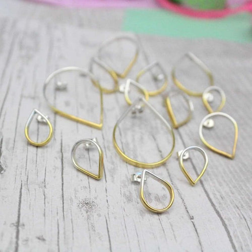 Loop Small Topsy Turvy Studs