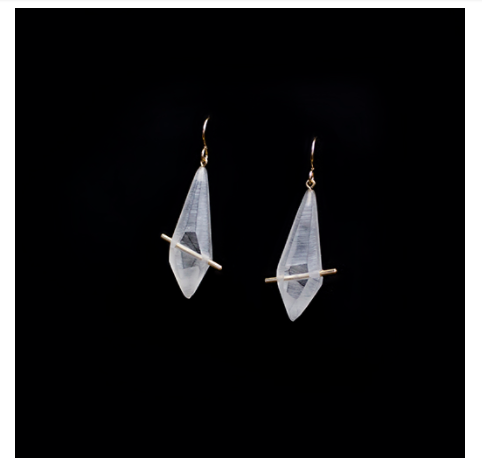 Lucid Crystal Earrings (Dangle)